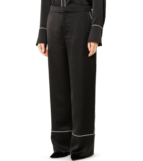 LE CIEL BLEU(ルシェルブルー)のパジャマルックパンツ-BLACK(パンツ/pants)-19S68101 詳細画像3