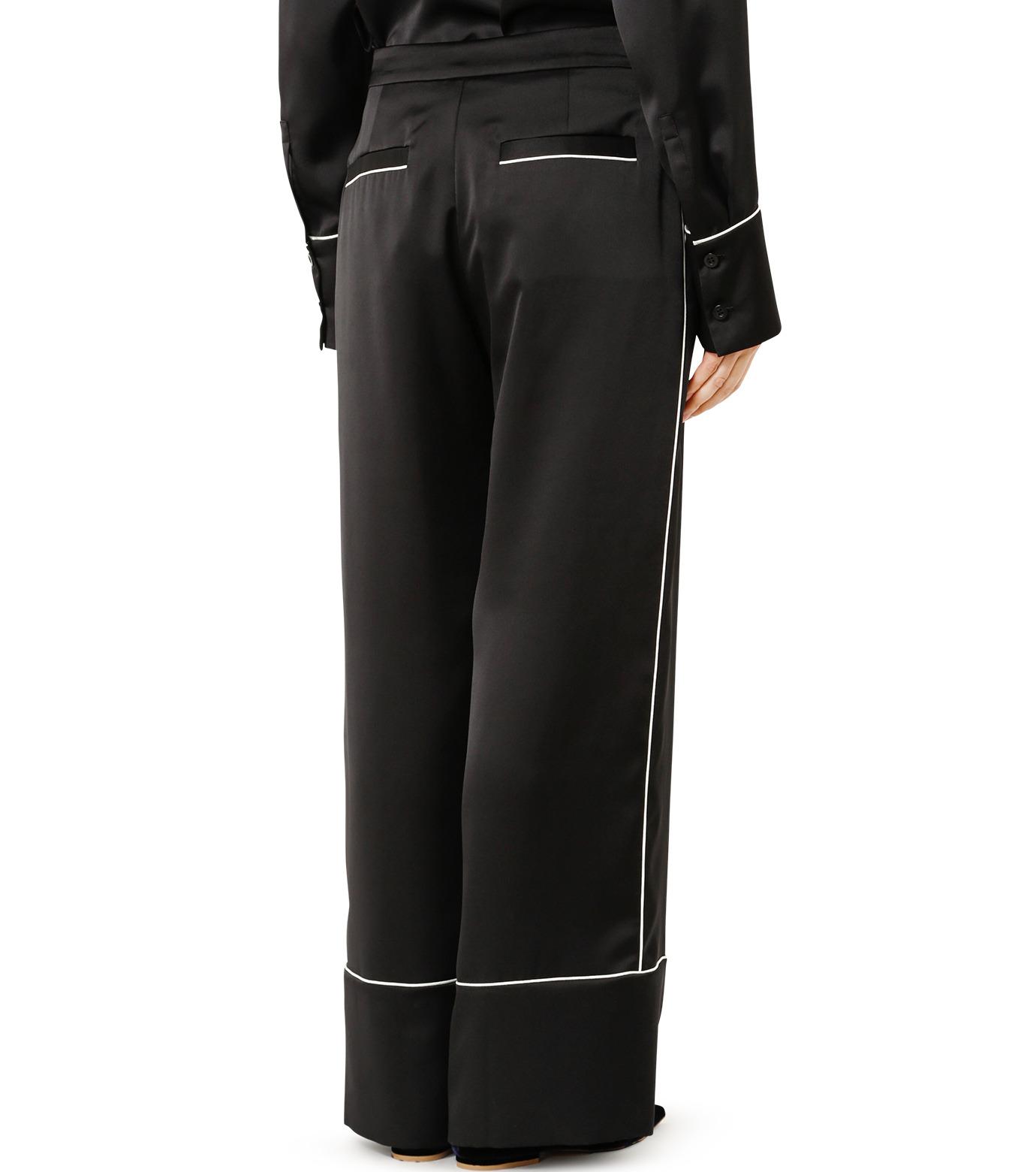 LE CIEL BLEU(ルシェルブルー)のパジャマルックパンツ-BLACK(パンツ/pants)-19S68101 拡大詳細画像4