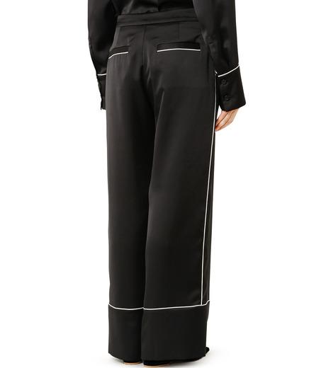 LE CIEL BLEU(ルシェルブルー)のパジャマルックパンツ-BLACK(パンツ/pants)-19S68101 詳細画像4