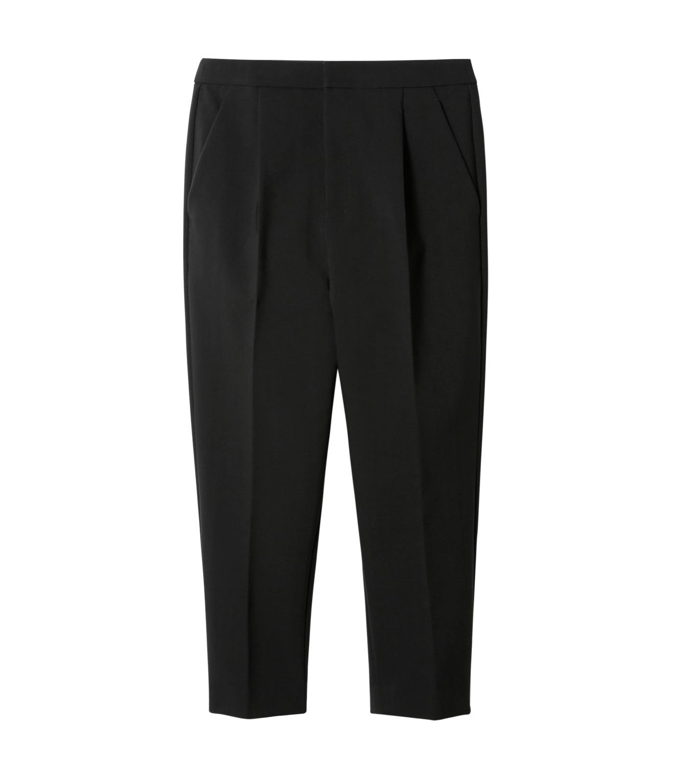 LE CIEL BLEU(ルシェルブルー)のクロップルーズパンツ-BLACK(パンツ/pants)-19S68102 拡大詳細画像1
