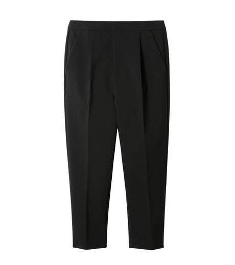 LE CIEL BLEU(ルシェルブルー)のクロップルーズパンツ-BLACK(パンツ/pants)-19S68102 詳細画像1