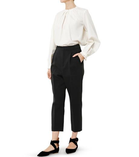 LE CIEL BLEU(ルシェルブルー)のクロップルーズパンツ-BLACK(パンツ/pants)-19S68102 詳細画像2
