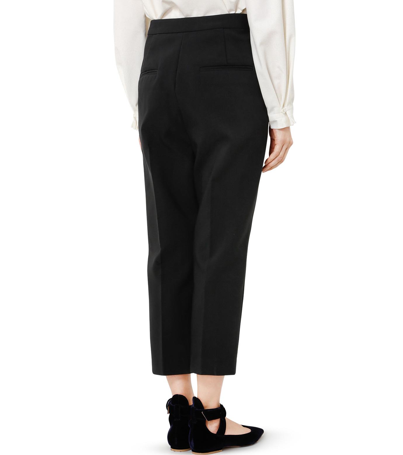 LE CIEL BLEU(ルシェルブルー)のクロップルーズパンツ-BLACK(パンツ/pants)-19S68102 拡大詳細画像4