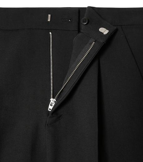 LE CIEL BLEU(ルシェルブルー)のクロップルーズパンツ-BLACK(パンツ/pants)-19S68102 詳細画像5