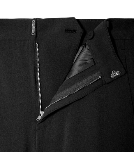 LE CIEL BLEU(ルシェルブルー)のトラックワイドパンツ-BLACK(パンツ/pants)-19S68103 詳細画像5