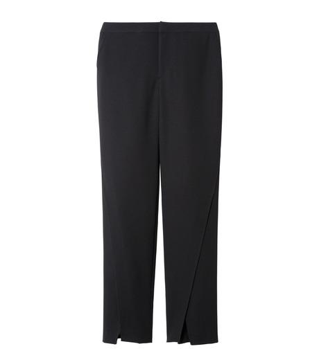LE CIEL BLEU(ルシェルブルー)のフロントスリットパンツ-BLACK(パンツ/pants)-19S68104 詳細画像1