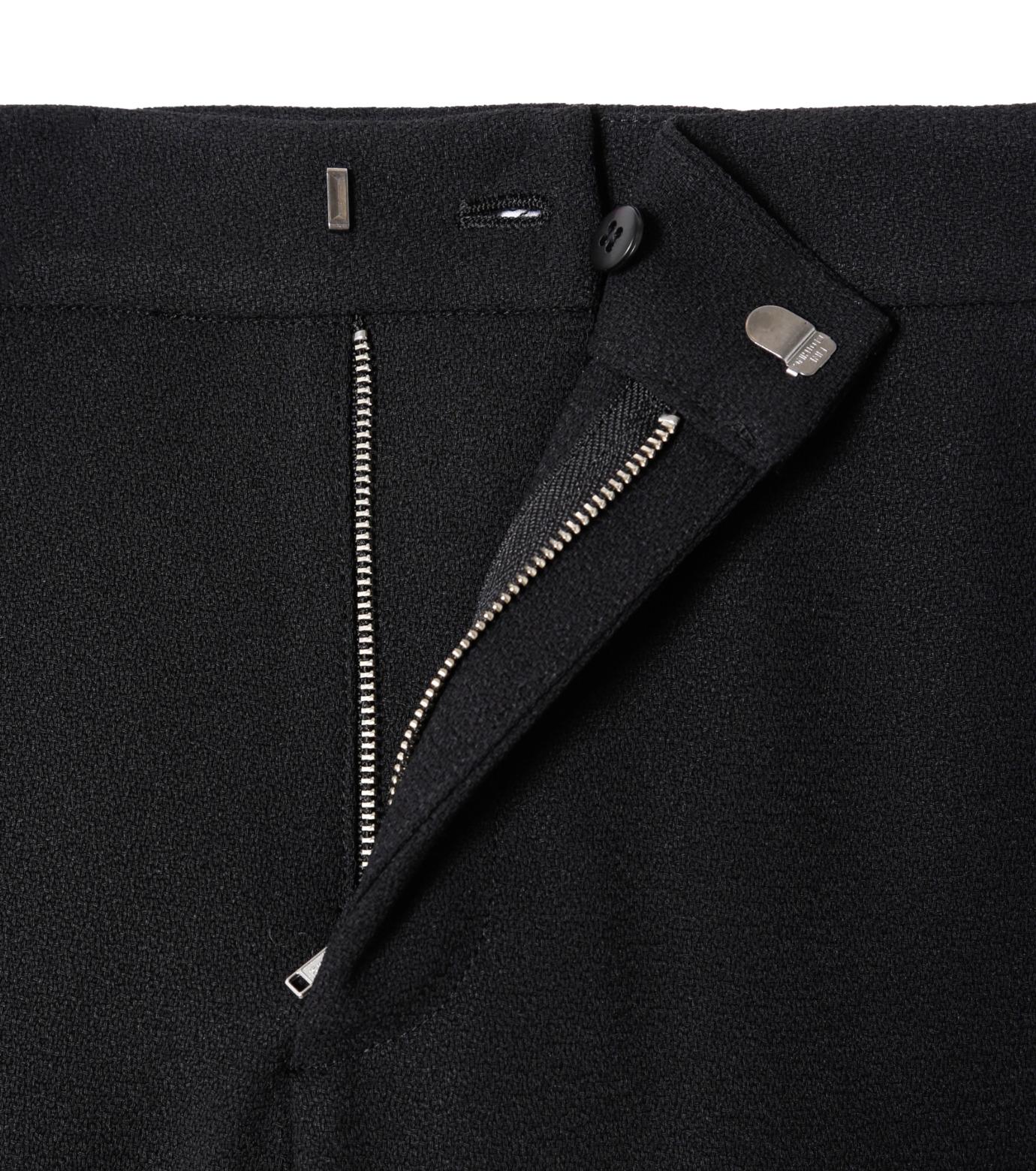 LE CIEL BLEU(ルシェルブルー)のフロントスリットパンツ-BLACK(パンツ/pants)-19S68104 拡大詳細画像4