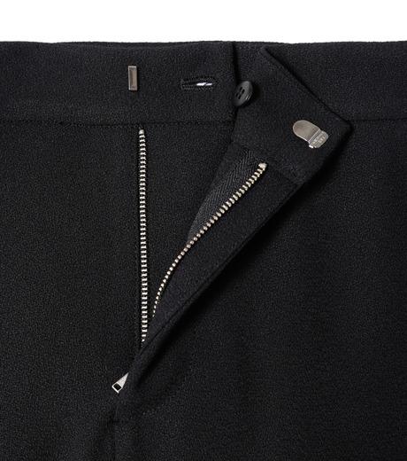 LE CIEL BLEU(ルシェルブルー)のフロントスリットパンツ-BLACK(パンツ/pants)-19S68104 詳細画像4