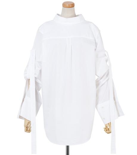 IRENE(アイレネ)のバックワーズシャツ-WHITE(シャツ/shirt)-19S83009 詳細画像1