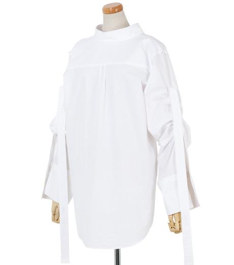 IRENE(アイレネ)のバックワーズシャツ-WHITE(シャツ/shirt)-19S83009 詳細画像2