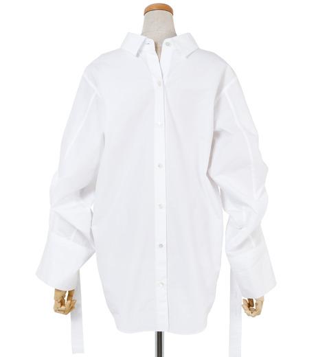 IRENE(アイレネ)のバックワーズシャツ-WHITE(シャツ/shirt)-19S83009 詳細画像3