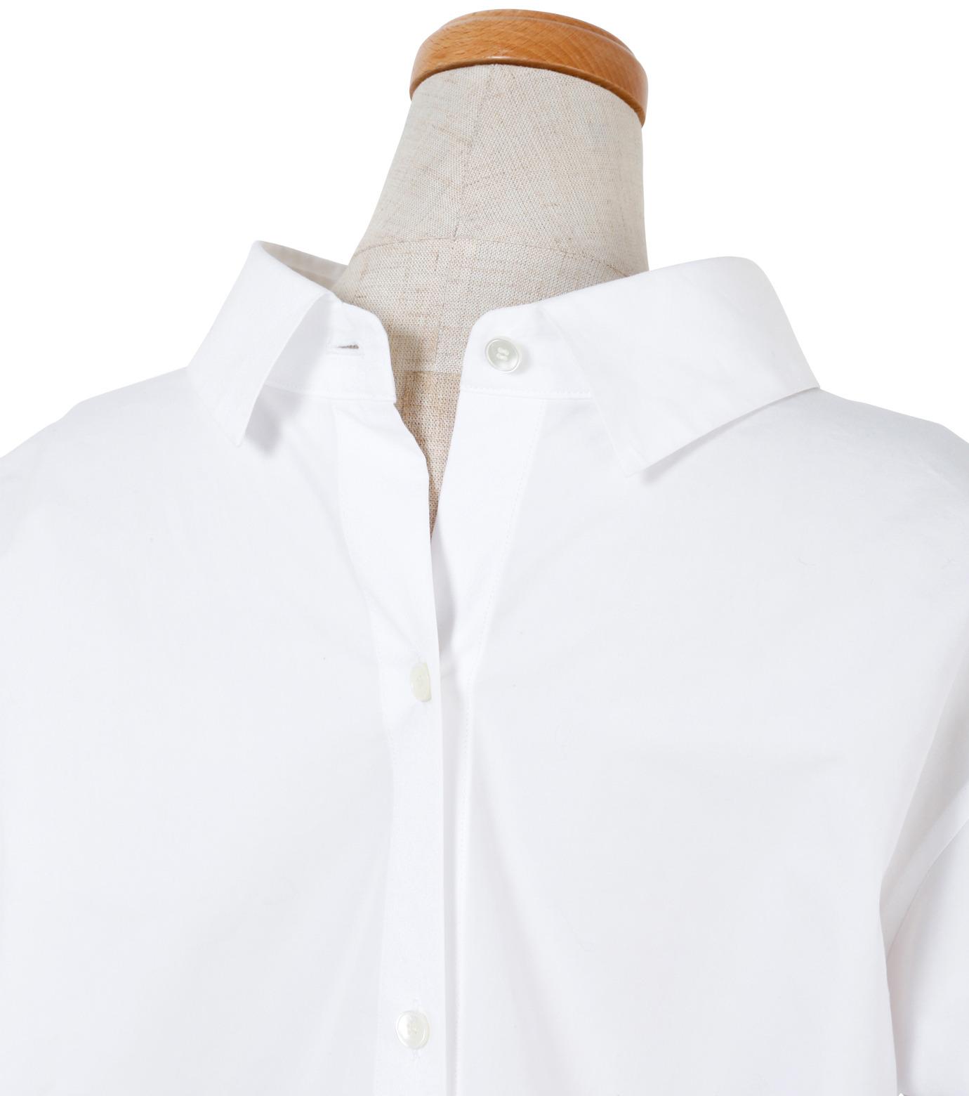 IRENE(アイレネ)のバックワーズシャツ-WHITE(シャツ/shirt)-19S83009 拡大詳細画像5