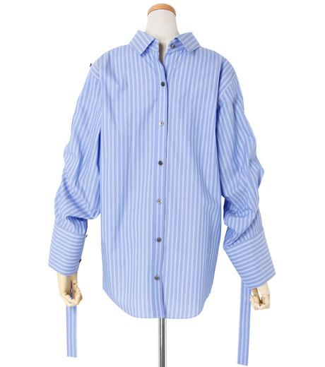 IRENE(アイレネ)のバックワーズシャツ-BLUE(シャツ/shirt)-19S83009 詳細画像3