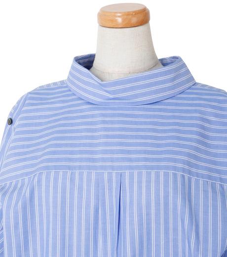 IRENE(アイレネ)のバックワーズシャツ-BLUE(シャツ/shirt)-19S83009 詳細画像4