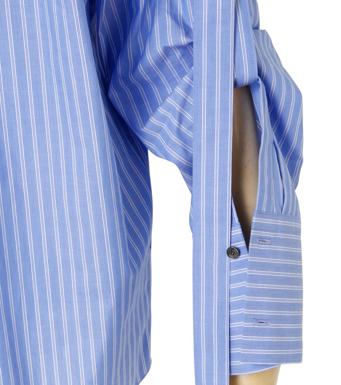 IRENE(アイレネ)のバックワーズシャツ-BLUE(シャツ/shirt)-19S83009 拡大詳細画像6
