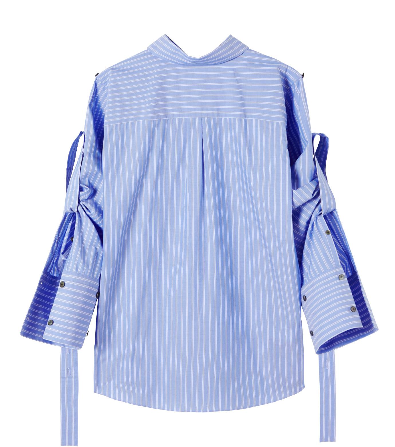 IRENE(アイレネ)のバックワーズシャツ-BLUE(シャツ/shirt)-19S83009 拡大詳細画像8