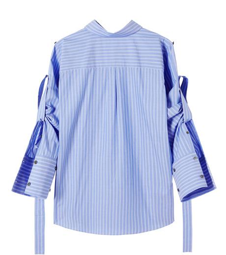 IRENE(アイレネ)のバックワーズシャツ-BLUE(シャツ/shirt)-19S83009 詳細画像8