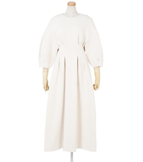 IRENE(アイレネ)のコットンニットドレス-WHITE(ワンピース/one piece)-19S85009 詳細画像1