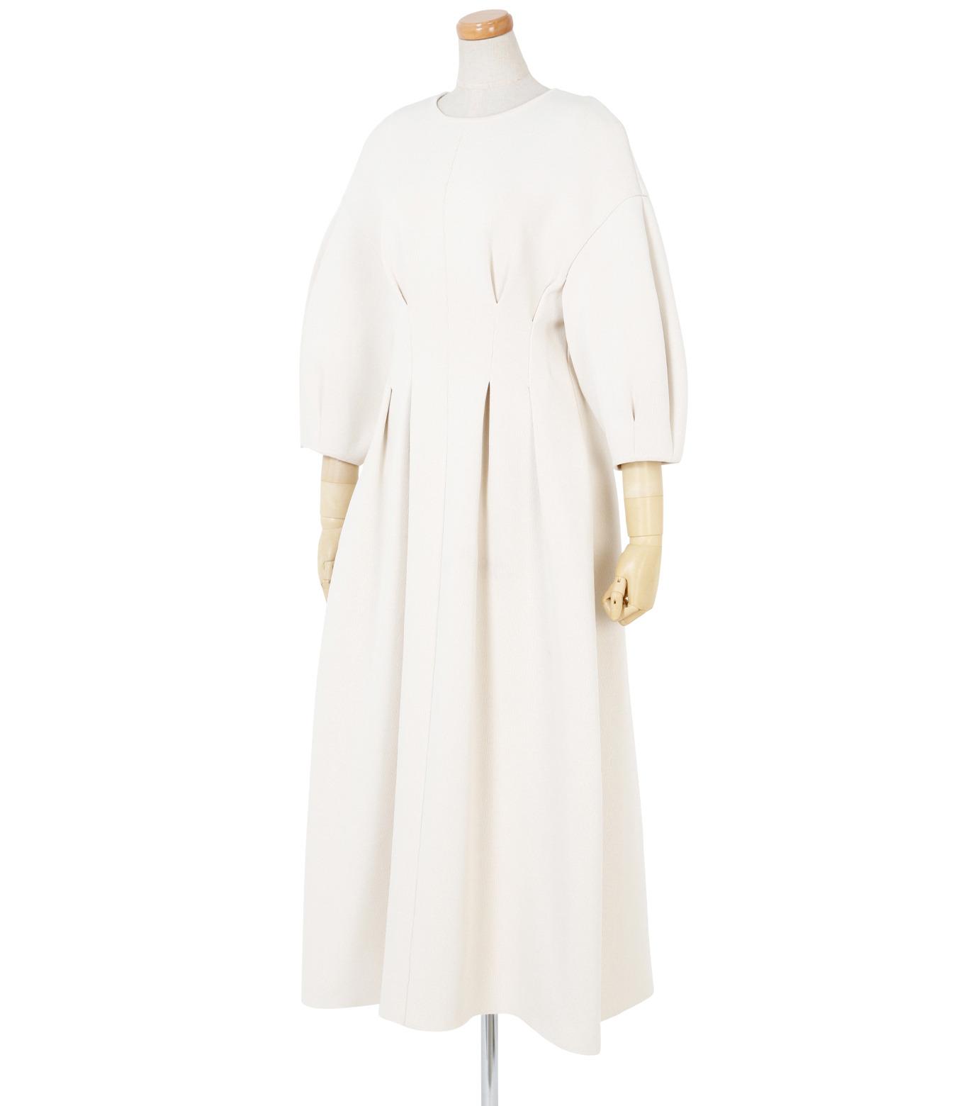 IRENE(アイレネ)のコットンニットドレス-WHITE(ワンピース/one piece)-19S85009 拡大詳細画像2