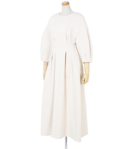 IRENE(アイレネ)のコットンニットドレス-WHITE(ワンピース/one piece)-19S85009 詳細画像2