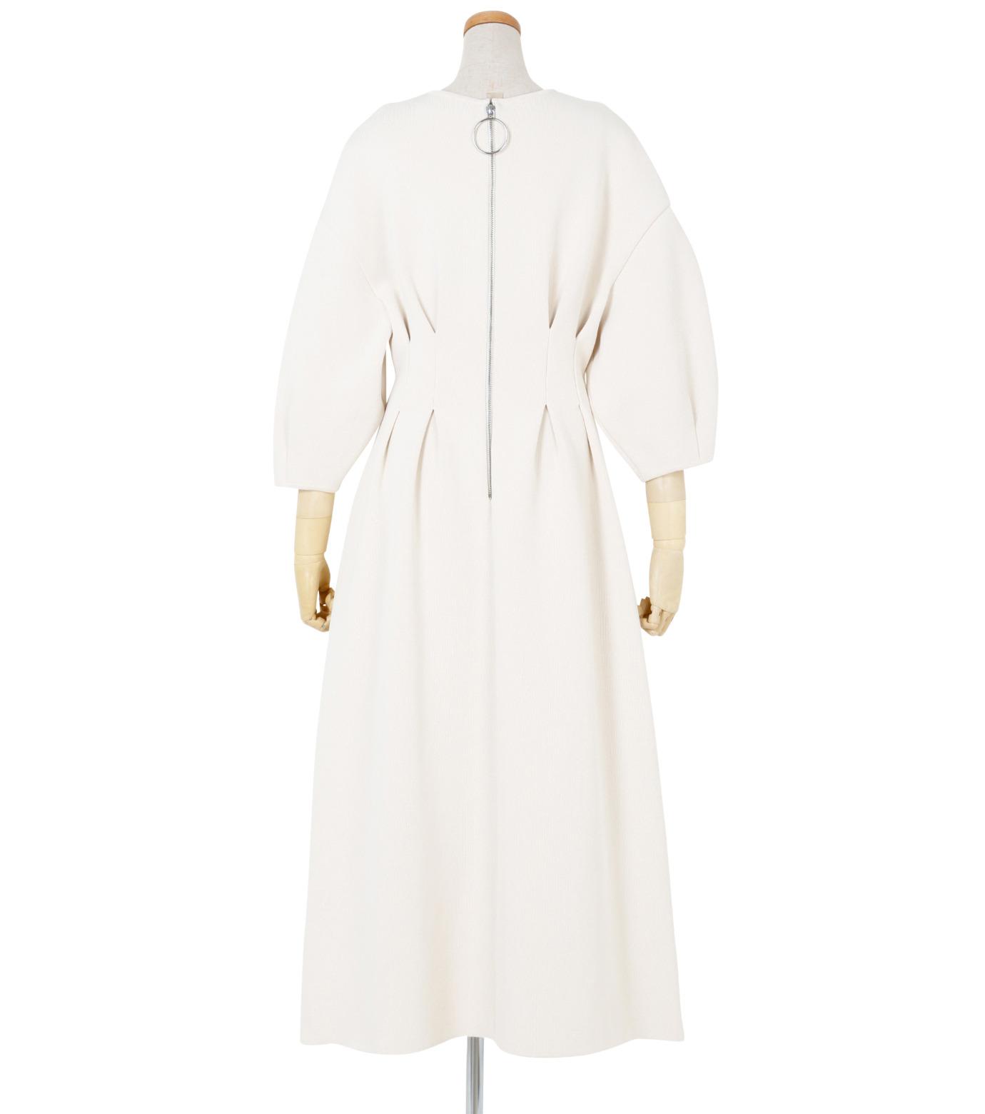 IRENE(アイレネ)のコットンニットドレス-WHITE(ワンピース/one piece)-19S85009 拡大詳細画像3