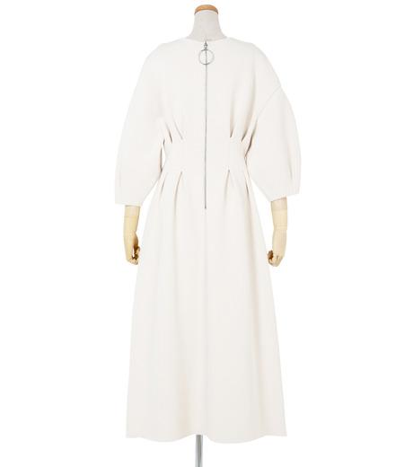 IRENE(アイレネ)のコットンニットドレス-WHITE(ワンピース/one piece)-19S85009 詳細画像3