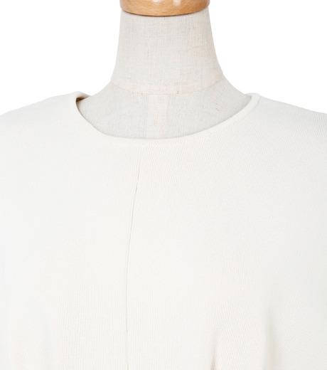 IRENE(アイレネ)のコットンニットドレス-WHITE(ワンピース/one piece)-19S85009 詳細画像4