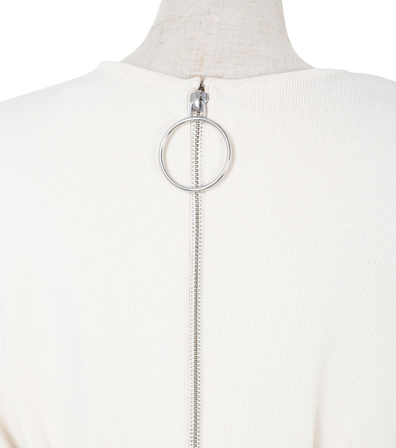 IRENE(アイレネ)のコットンニットドレス-WHITE(ワンピース/one piece)-19S85009 拡大詳細画像5