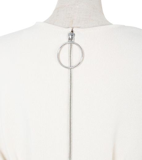 IRENE(アイレネ)のコットンニットドレス-WHITE(ワンピース/one piece)-19S85009 詳細画像5