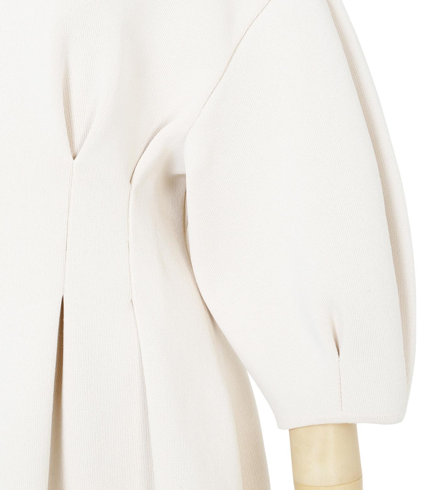 IRENE(アイレネ)のコットンニットドレス-WHITE(ワンピース/one piece)-19S85009 拡大詳細画像6