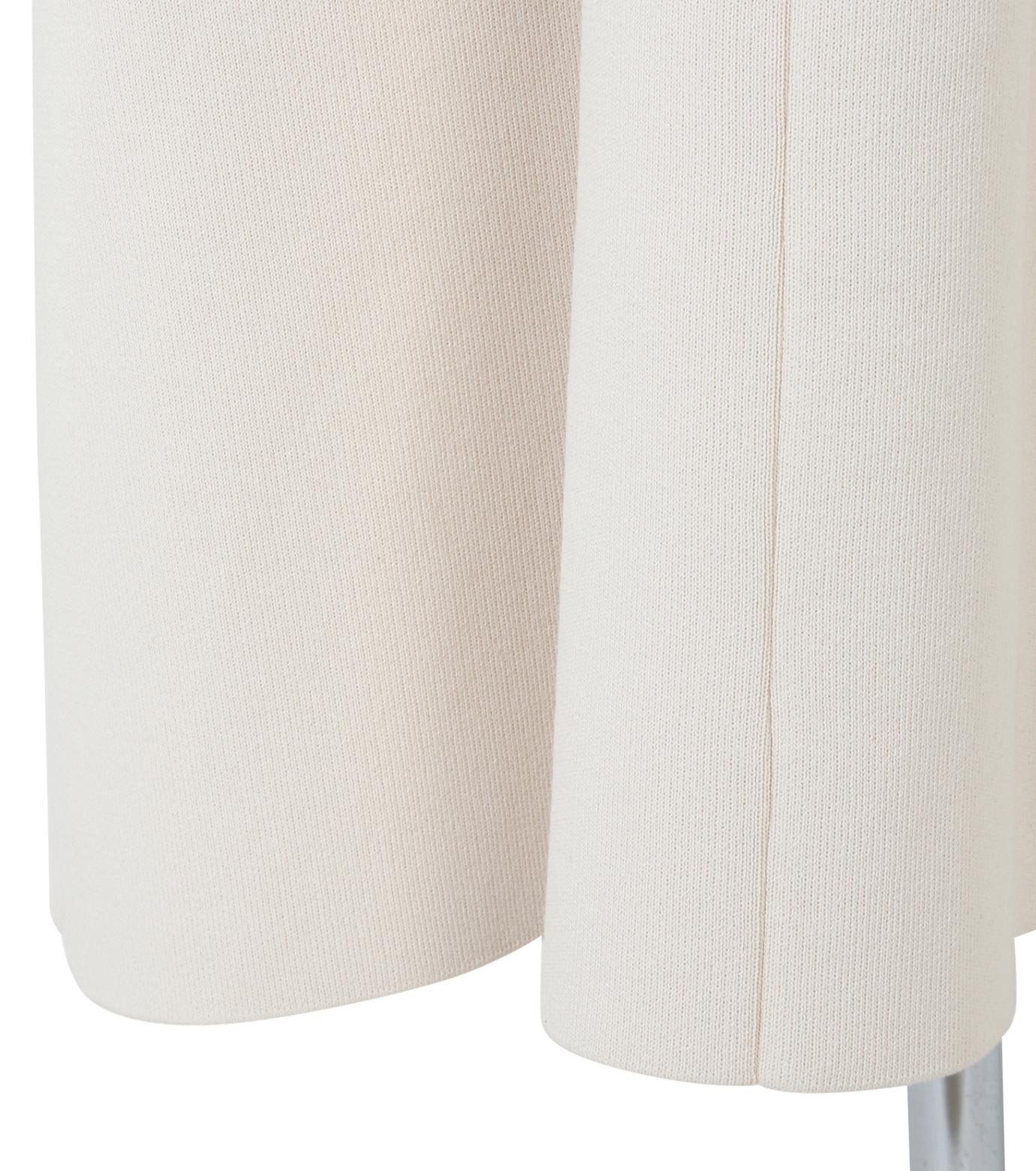 IRENE(アイレネ)のコットンニットドレス-WHITE(ワンピース/one piece)-19S85009 拡大詳細画像7