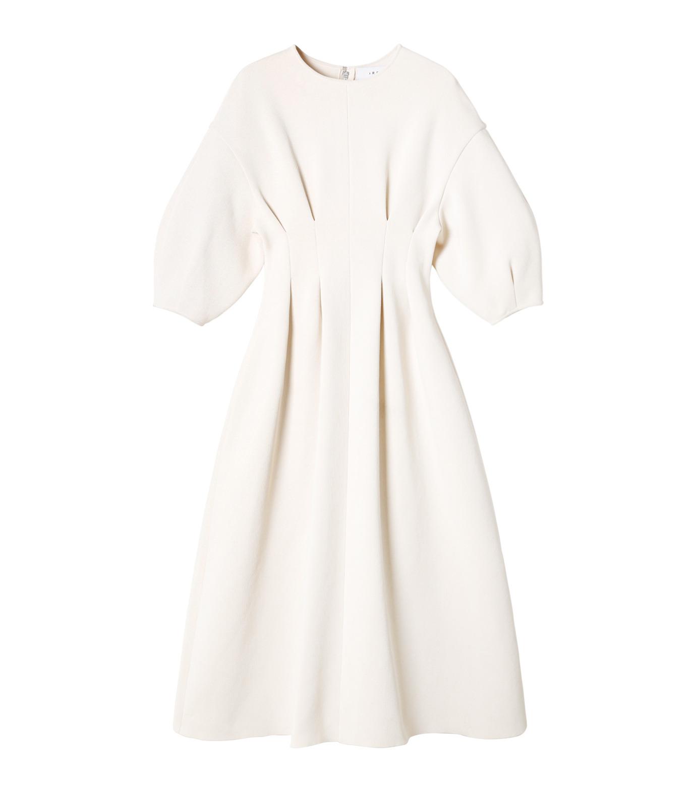 IRENE(アイレネ)のコットンニットドレス-WHITE(ワンピース/one piece)-19S85009 拡大詳細画像8