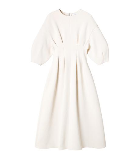 IRENE(アイレネ)のコットンニットドレス-WHITE(ワンピース/one piece)-19S85009 詳細画像8