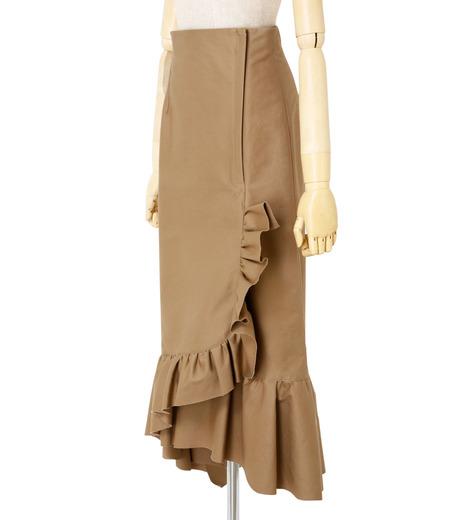 IRENE(アイレネ)のクリンクルフリルチノスカート-BEIGE(スカート/skirt)-19S87005 詳細画像2
