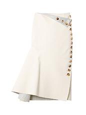 IRENE ボタンラインスカート