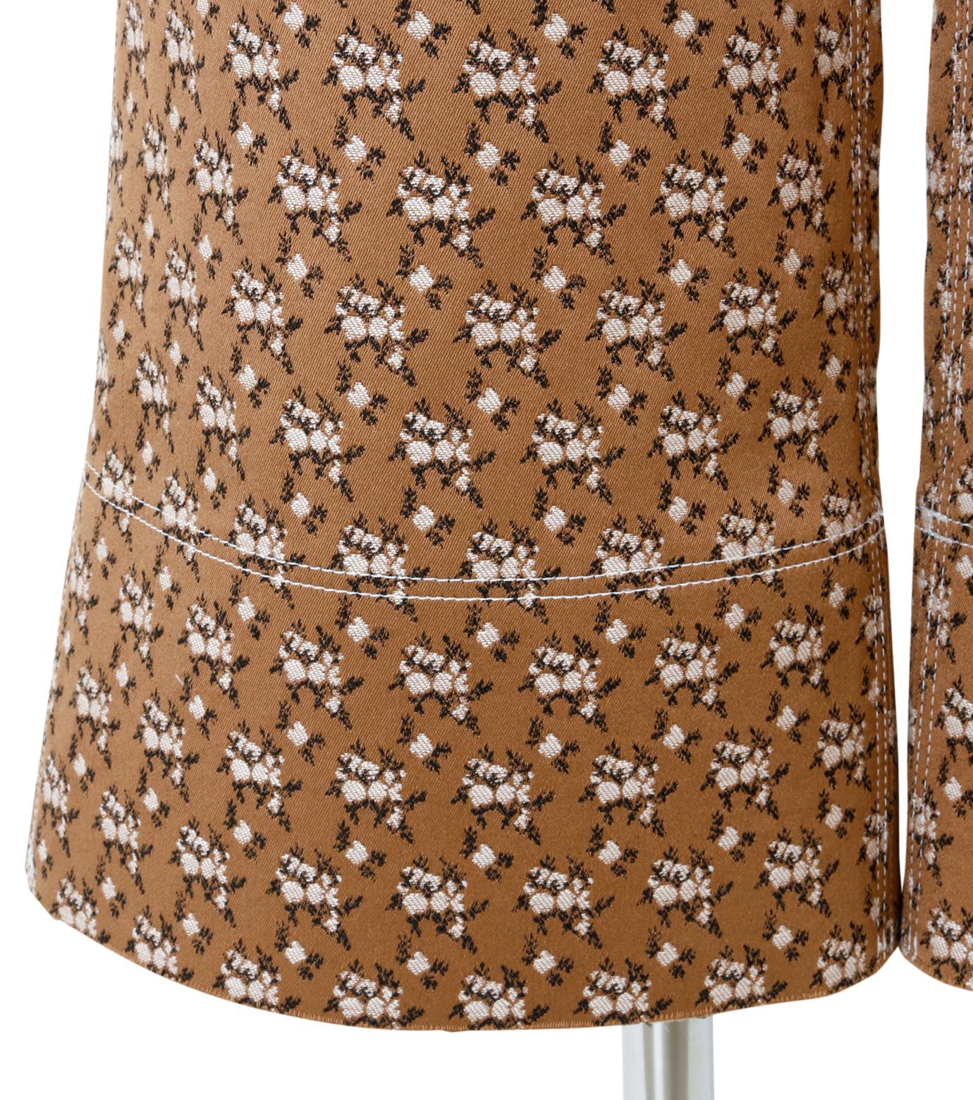 IRENE(アイレネ)のフラワーサテンパンツ-BROWN(パンツ/pants)-19S88001 拡大詳細画像5