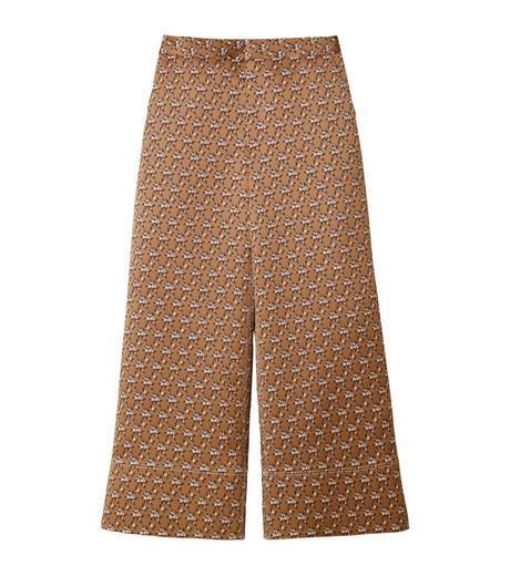IRENE(アイレネ)のフラワーサテンパンツ-BROWN(パンツ/pants)-19S88001 詳細画像6