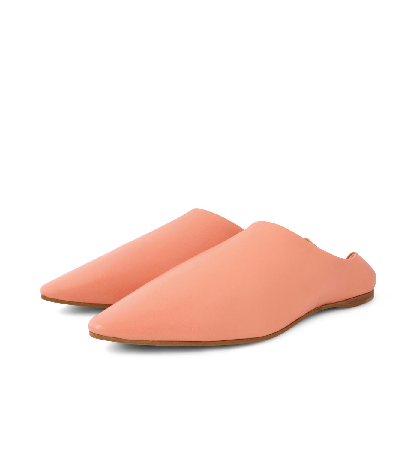 ACNE STUDIOS(アクネ ストゥディオズ)のSlipper Nappa-PINK(フラットシューズ/Flat shoes)-1EGC64-72 拡大詳細画像4