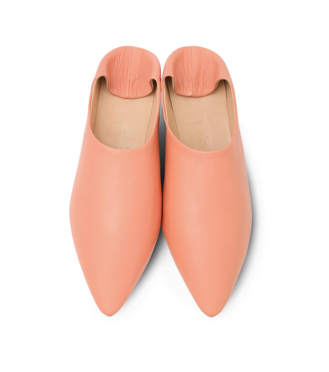 ACNE STUDIOS(アクネ ストゥディオズ)のSlipper Nappa-PINK(フラットシューズ/Flat shoes)-1EGC64-72 拡大詳細画像5