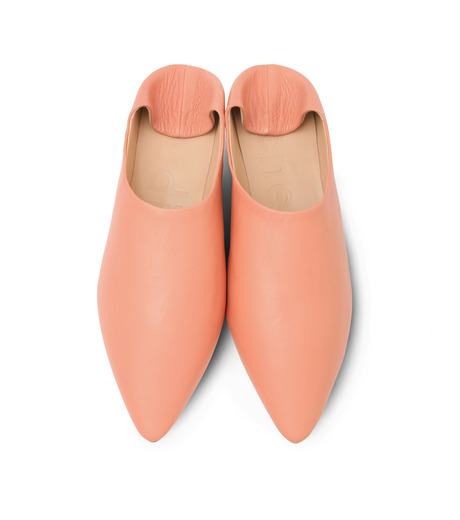 ACNE STUDIOS(アクネ ストゥディオズ)のSlipper Nappa-PINK(フラットシューズ/Flat shoes)-1EGC64-72 詳細画像5