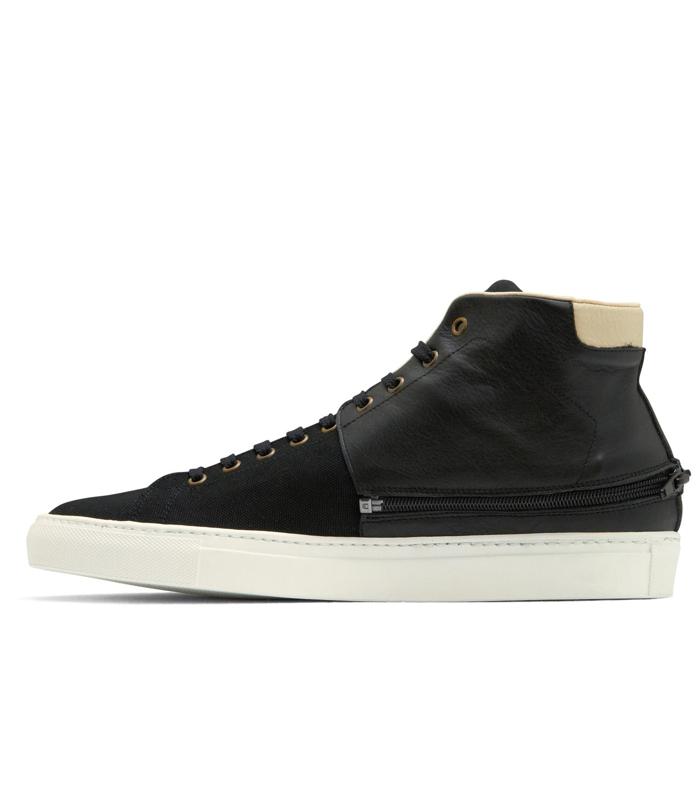 Trussardi(トラサルディ)のSeparate Sneaker-BLACK-1RS721-13 拡大詳細画像2