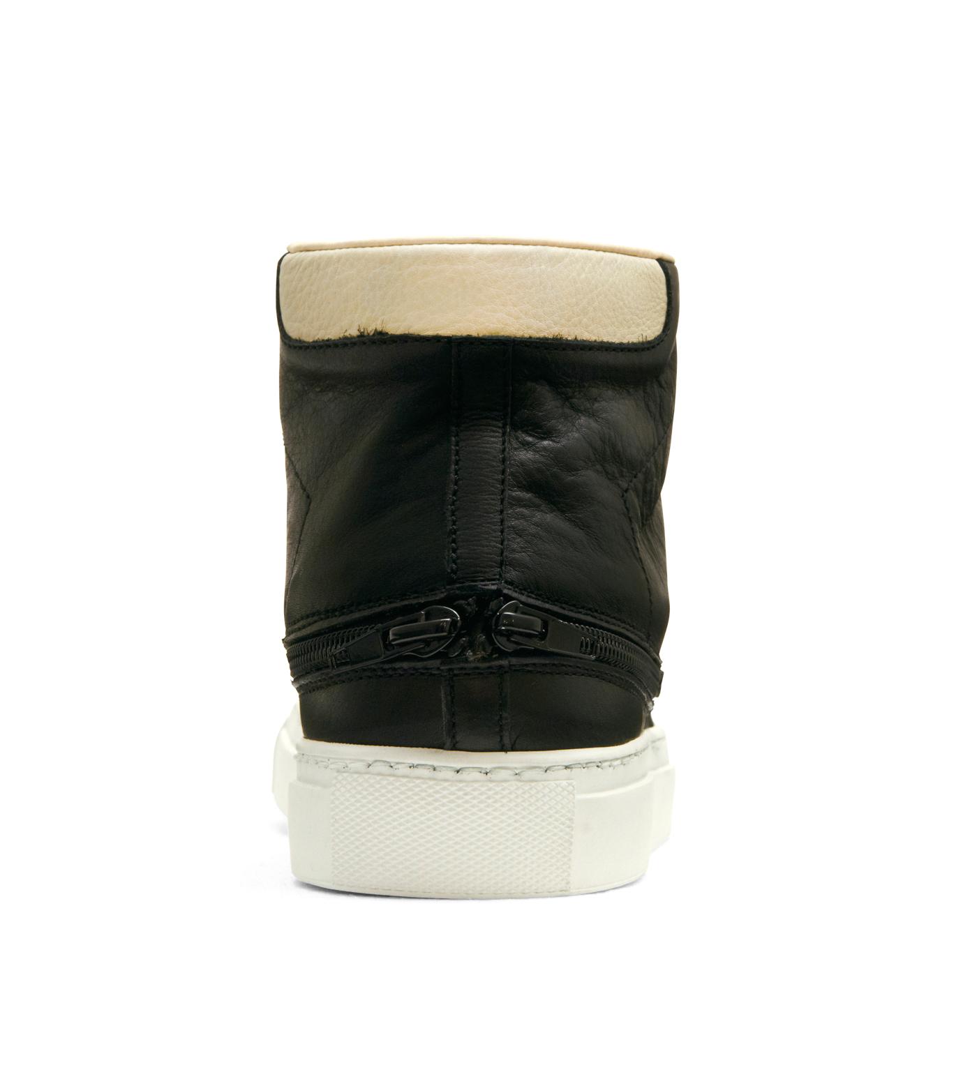 Trussardi(トラサルディ)のSeparate Sneaker-BLACK-1RS721-13 拡大詳細画像3