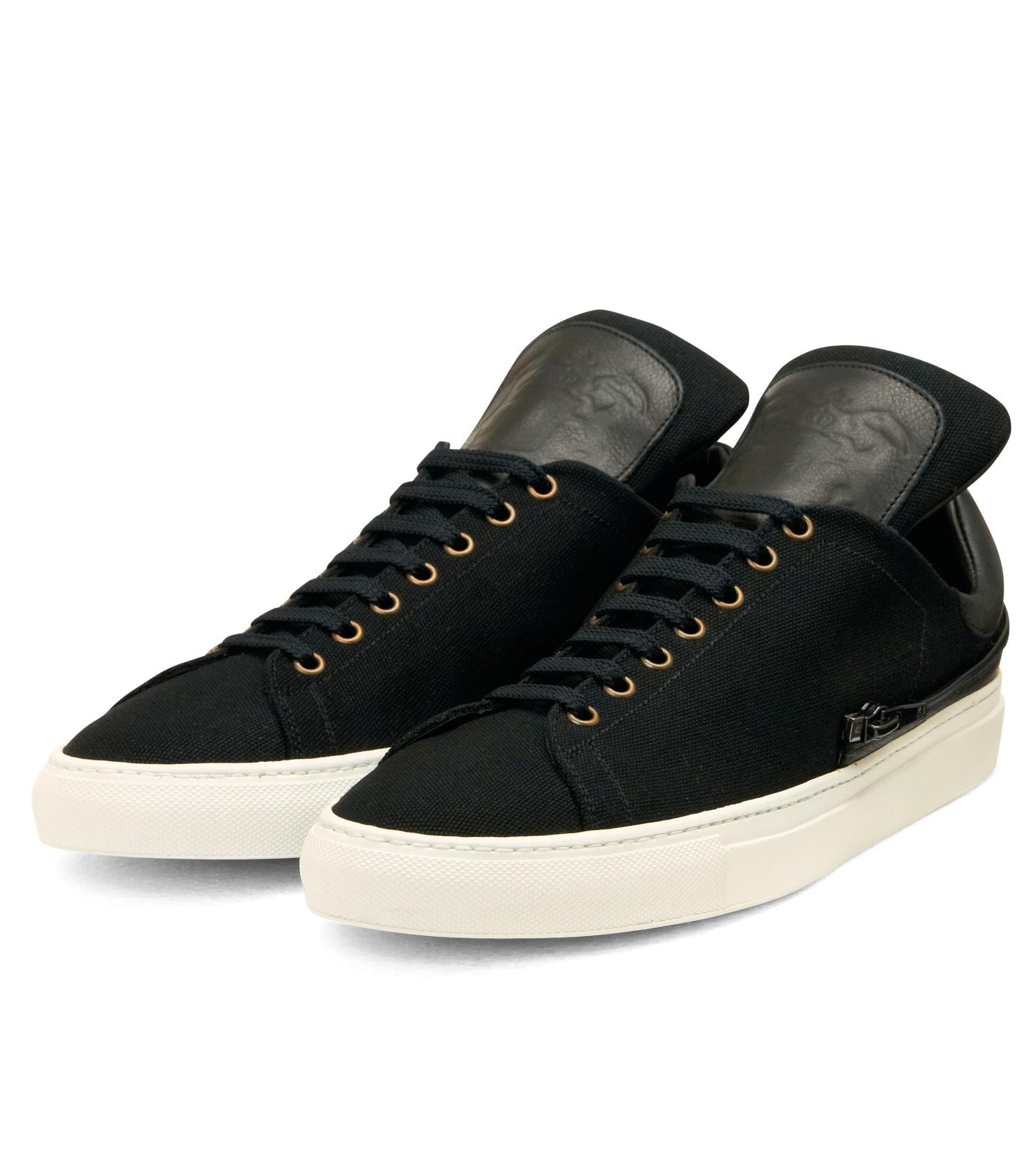 Trussardi(トラサルディ)のSeparate Sneaker-BLACK-1RS721-13 拡大詳細画像4
