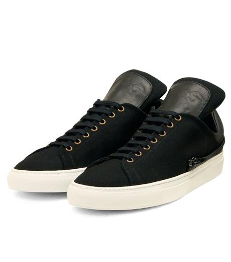 Trussardi(トラサルディ)のSeparate Sneaker-BLACK-1RS721-13 詳細画像4