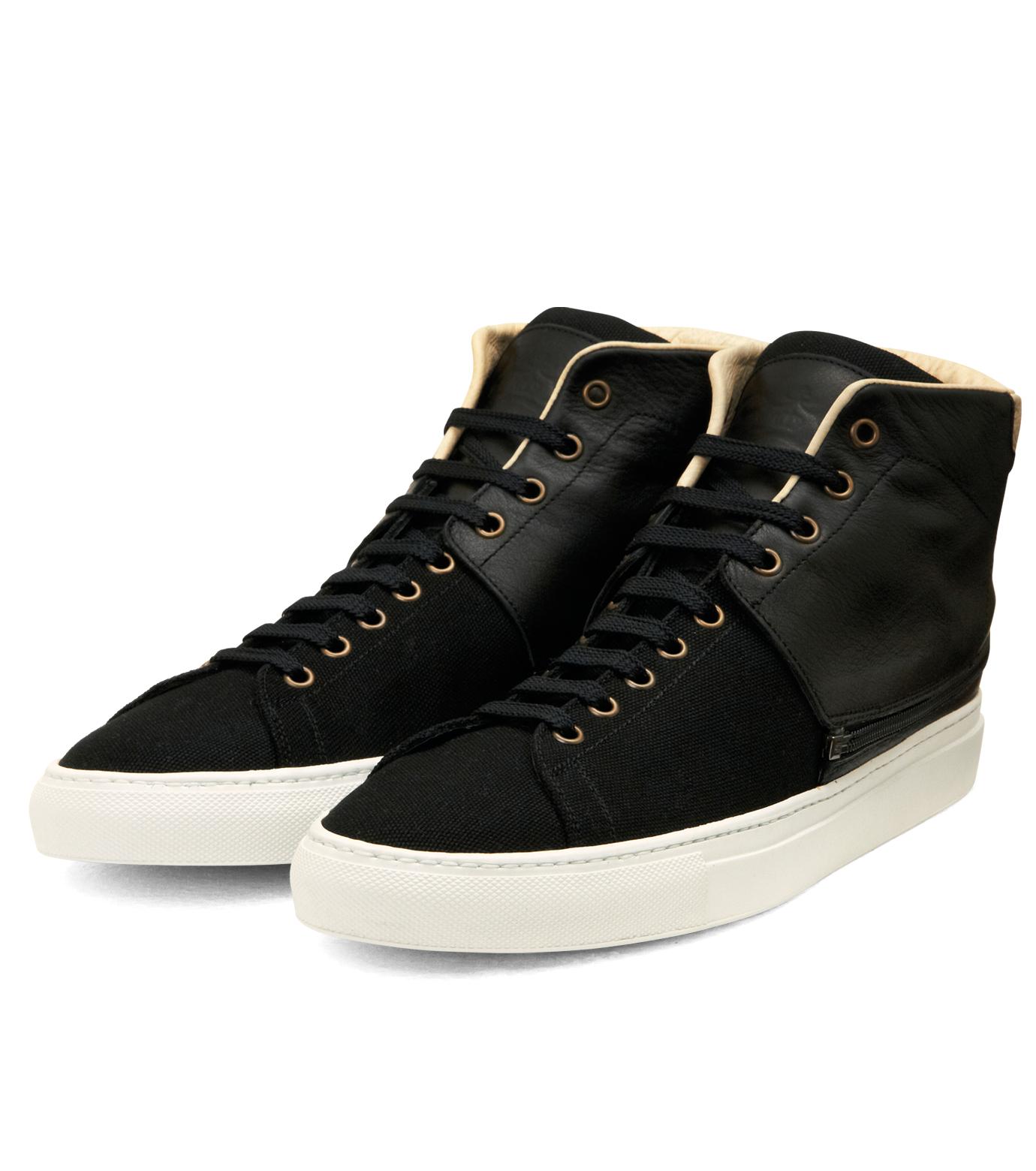 Trussardi(トラサルディ)のSeparate Sneaker-BLACK-1RS721-13 拡大詳細画像5