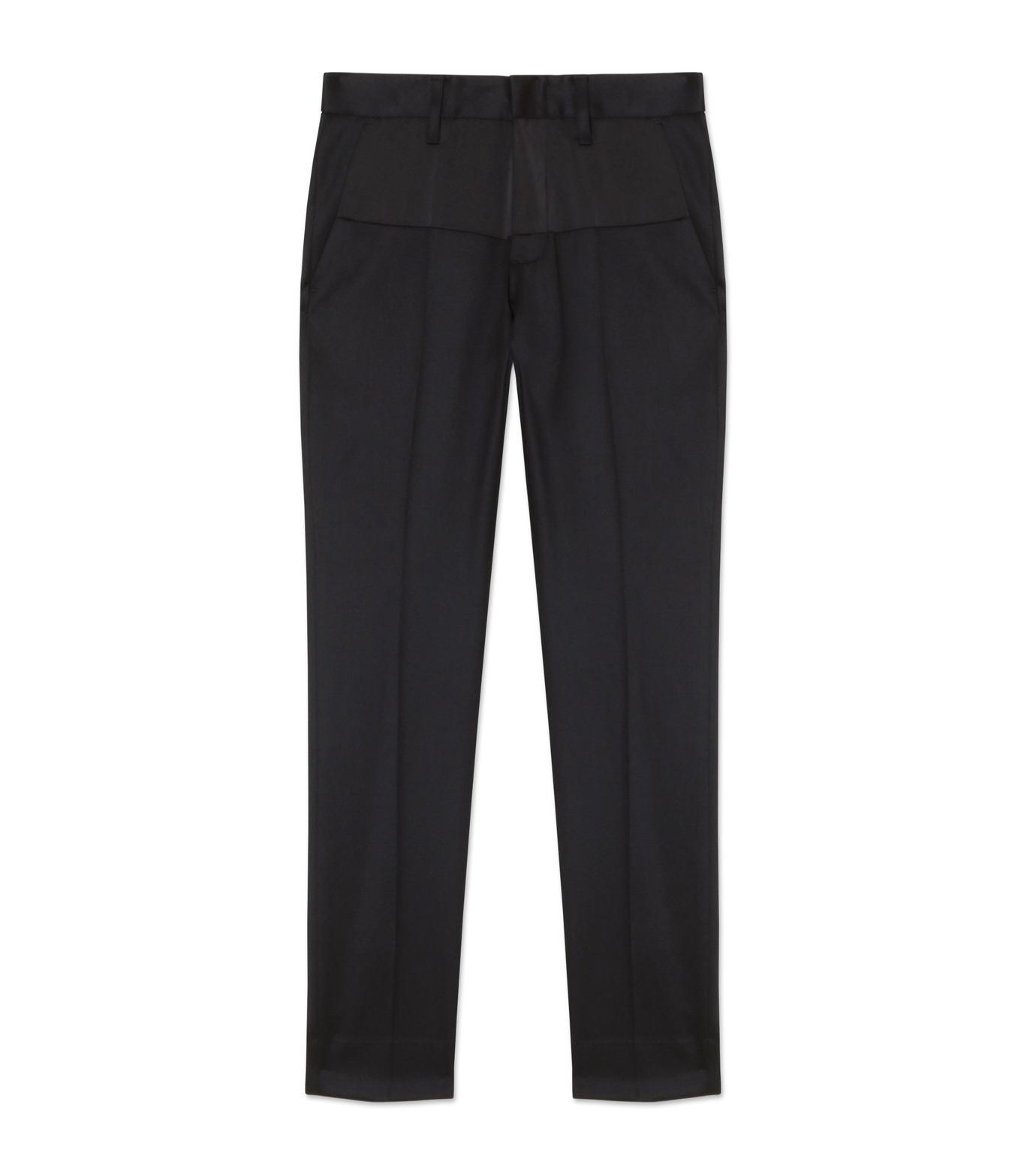liberum arbitrium(リベルム アルビトリウム)のSatin Skinny Slacks-BLACK(パンツ/pants)-2016AW-PT01-13 拡大詳細画像1