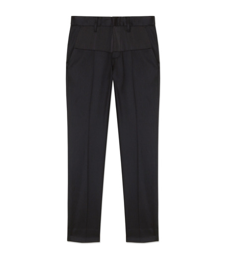 liberum arbitrium(リベルム アルビトリウム)のSatin Skinny Slacks-BLACK(パンツ/pants)-2016AW-PT01-13 詳細画像1