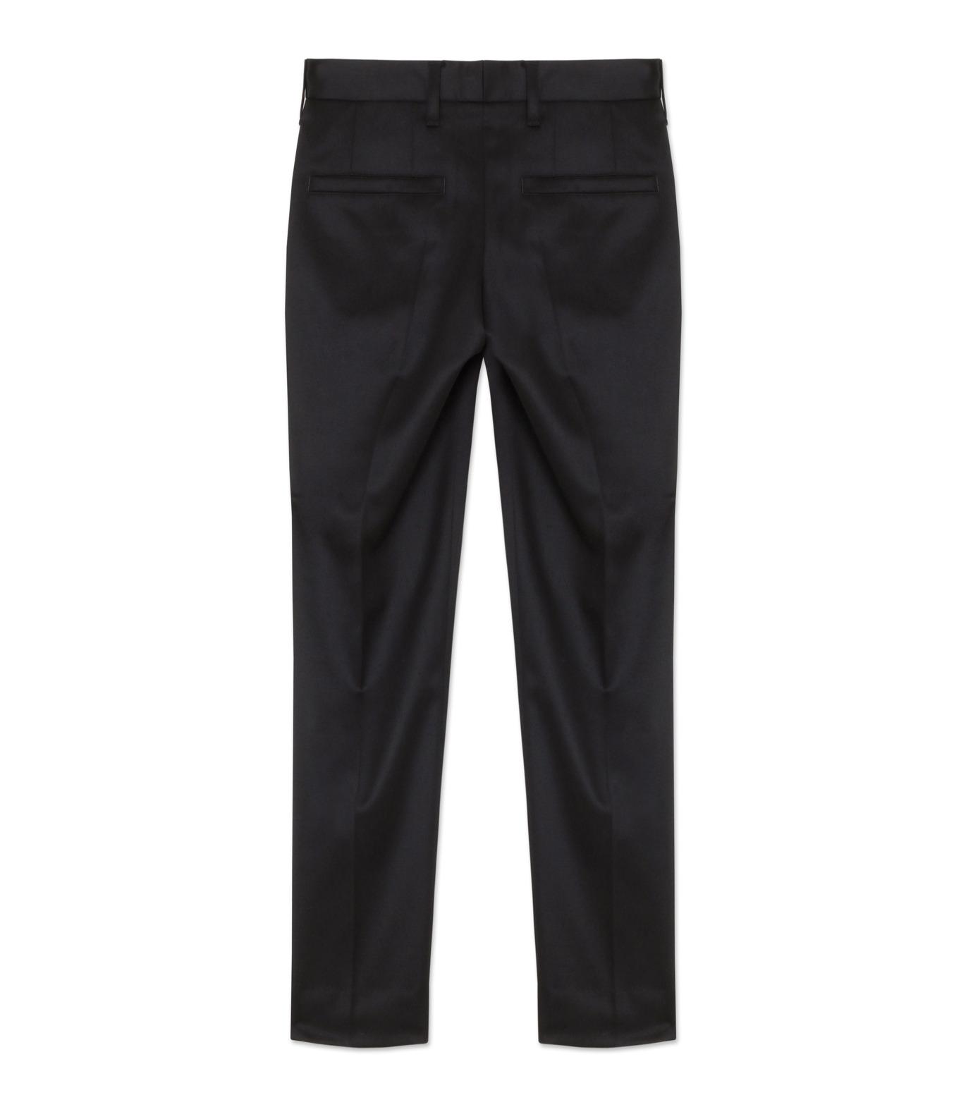 liberum arbitrium(リベルム アルビトリウム)のSatin Skinny Slacks-BLACK(パンツ/pants)-2016AW-PT01-13 拡大詳細画像2