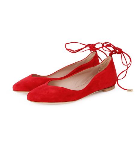 Aperlai(アペルライ)のAnkle Strap Ballerina-NEON ORANGE(シューズ/shoes)-2061-60 詳細画像2