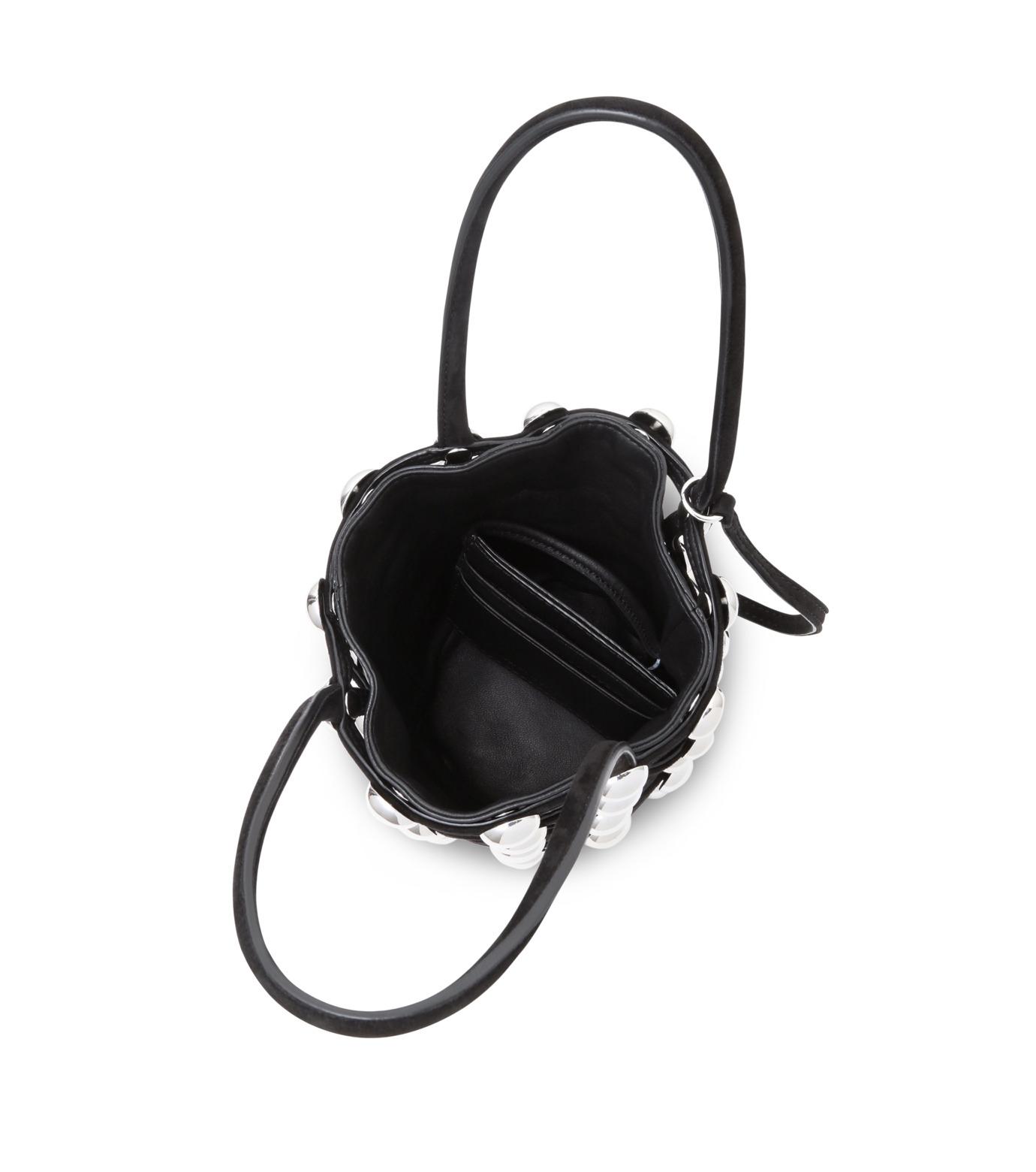 Alexander Wang(アレキサンダーワン)のRoxi Mini Bucket w/Studs-BLACK(ハンドバッグ/hand bag)-20C0038-13 拡大詳細画像4